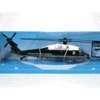 China White Hawk VH-60N Helicopter diecast model 1:72 scale die cast from NewRay - Dark Green and White on sale