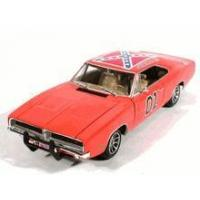 "China 1969 Dodge Charger diecast model car ""General Lee"" Dukes of Hazzard 1:18 scale die cast by Ertl wholesale"