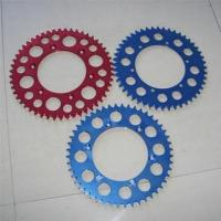Buy cheap Motorcycle Aluminum Sprockets -China Motorcycle Sprockets Exporter and Supplier from wholesalers