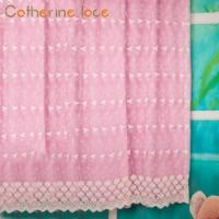 Buy cheap Catherine China Wholesale Designs White Flower Sheer Curtain Embroidery Fabric from wholesalers