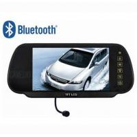 Quality 7inch rear view mirror monitor with Bluetooth M7 for sale