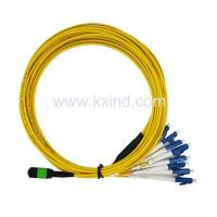 Quality Fiber Optical Patch Cord MTP-12LC-SM-10M for sale