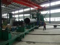 Quality Complete Spiral Welded Pipe Production Line for sale