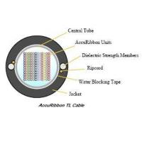 Quality Ribbon optic cable Non-mentallicRibbonFiberOpticCable for sale