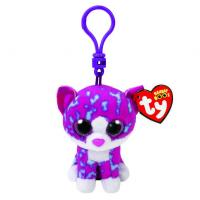 China TY Beanie Boos Charlotte The Cat Keyring Clip Toys wholesale