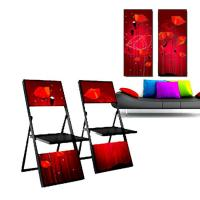 Buy cheap folding chair and wall picture from wholesalers