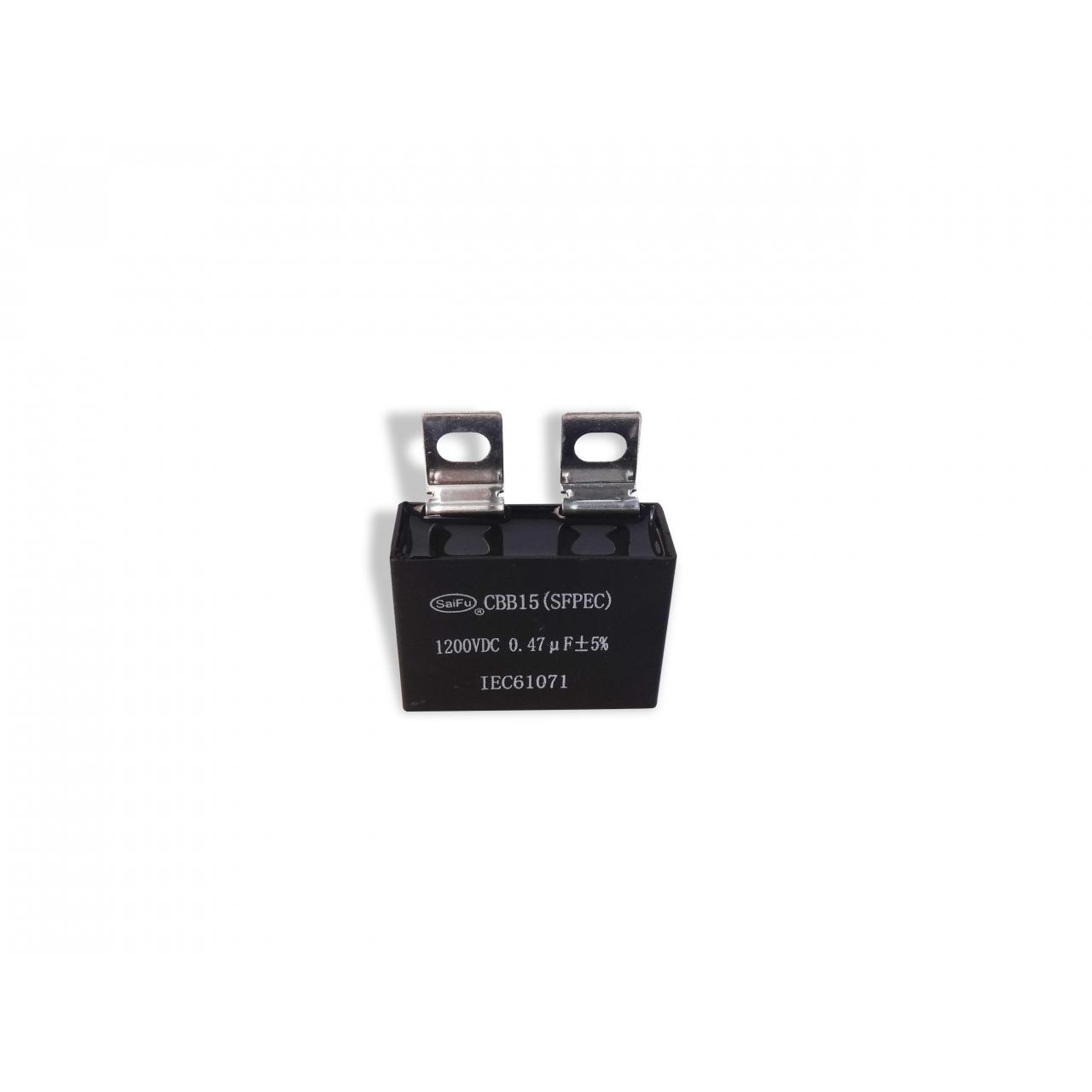 Buy cheap CBB15 1200VDC 0.47uF Industrial Capacitors from wholesalers