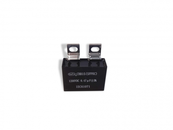 Quality CBB15 1200VDC 0.47uF Industrial Capacitors for sale