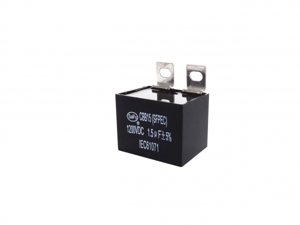 Quality CBB15 1200VAC 1.5uF Industrial Capacitors for sale