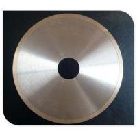 China Industrial Diamond Tile Saw Blade Continuous Rim Blade T-Slot / Hook Slot Type on sale