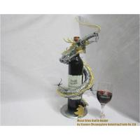 Wine Holder Dragon-Metal-Wine-Bottle-Holder001
