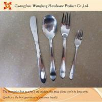 High qulity flatware 18/0 spoon&knife