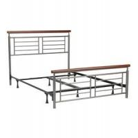 China Contemporary Metal Bed - Cherry wholesale