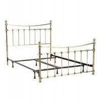 China Daybeds Leighton Metal Bed Frame - Antique Brass wholesale