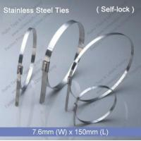China E1272 Stainless Steel Tie (7.6mm x 150mm) wholesale