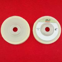 China 4inch white color polishing wool felt wheel on sale