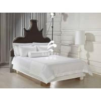 China Hotel Bulk Percale Bed Sheet Luxury White Hotel Cheap Sateen Bed Sheets wholesale
