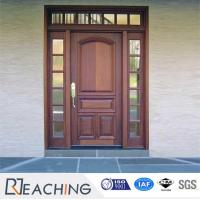China with Glass Solid Wood Composite Door Manufactuerer Design wholesale