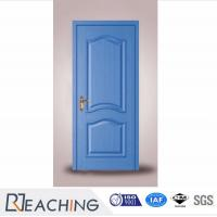 China blue Color Modern Painting Composit Door Formaldehyde Removal wholesale