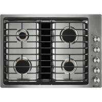 China Kitchen 30-inch Built-In Gas Cooktop with Downdraft Ventilation System on sale
