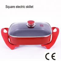 China Non-stick Square Multi Cooker with Adjustable Separable Electric Frying Skillet wholesale