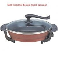 China Ceramic Electric Pizza Pan with Non-stick Coating Household Pizza Maker wholesale