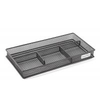 China Mesh Collection Desk Drawer Organizer 4 Dividers wholesale