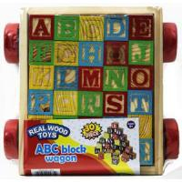 Alphabet Blocks in Wagon (6PK) MSRP: $14.99 Now $6.90