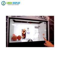 China 42 43 inch Multi Touch Panel Android Linux Windows Transparent LCD Light Box Display wholesale