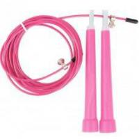 3M Pink Adjustable Steel Wire Racing Jump Jumping Skipping Rope for Adult student Children Sport