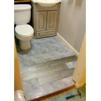 China how to install vinyl plank flooring in bathroom wholesale