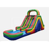 China Inflatables  15' Dual Slide (Green) wholesale