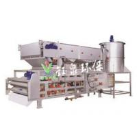 YTE3 three filter frame one machine with gravity thickening and dewatering