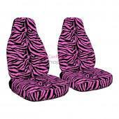Buy cheap Pink Car Accessories Pink Zebra Car Seat Covers from wholesalers