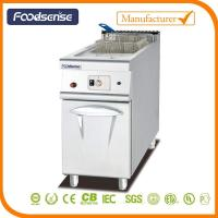 1 Combination Oven 1-Tank Gas Fryer With Cabinet