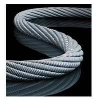 6 37 Round stock wire rope(smooth and galvanize)