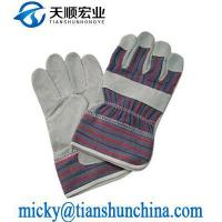 China Leather Safety Glove on sale
