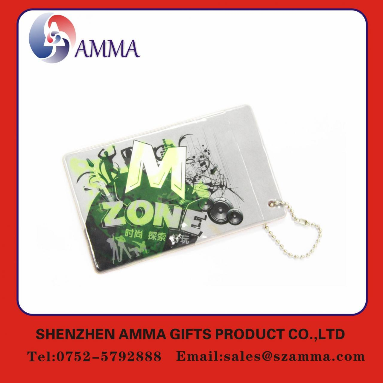 China Fashionable cute plastic card holder wholesale