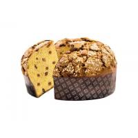 Panettone Glassato (Glazed) Basso in Cellophane Wrap by Albertengo