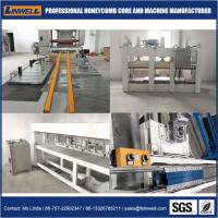 Own designed honeycomb production line machine