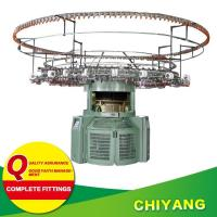 Buy cheap Knitting machine Product Center Single jersey jacquard with stripers from wholesalers