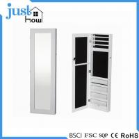 Buy cheap Wall Mounted Jewelry Armoire Full Length Mirror Jewelry Armoire Wall Mount from wholesalers