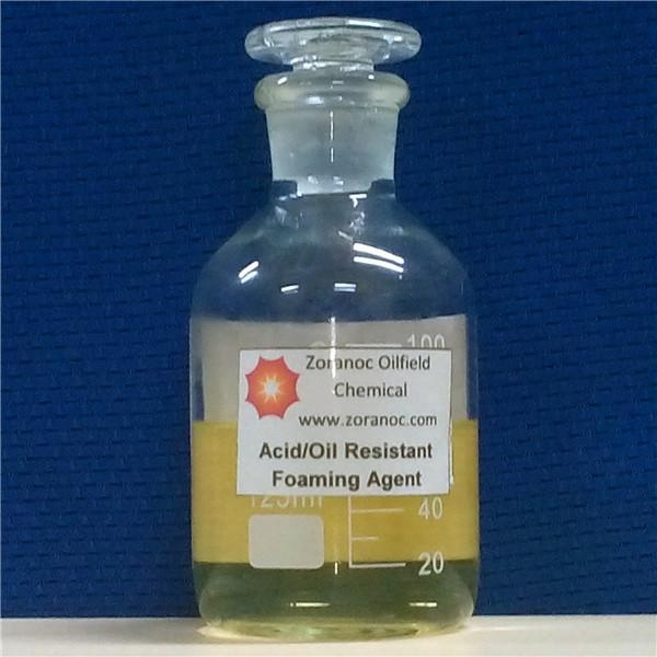 Quality Oil Field Chemicals Acid/Oil Resistant Foaming Agent for sale
