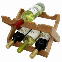 Buy cheap Bamboo Wine Rack from wholesalers