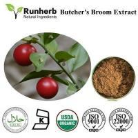 China Butcher's Broom Extract ,butcher's broom extract factory wholesale