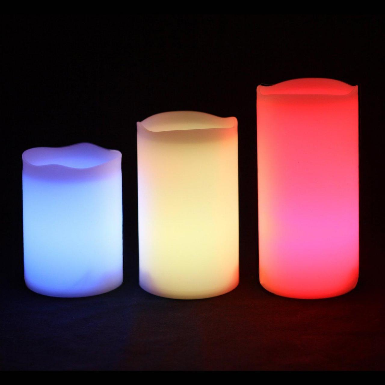 China Outdoor & Indoor Color Changing Candles wholesale