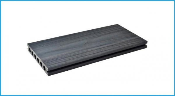 China WPC Co-extrusion Decking Anti-uv WPC Co-extrusion Decking for Outdoor