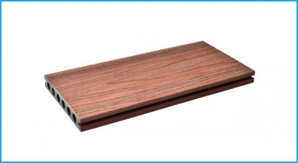 China WPC Co-extrusion Decking Durable Exterior Wood Plastic Composite Co-extrusion Decking