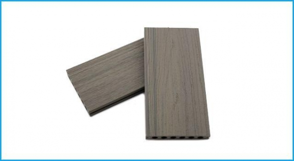 China Hollow Co-extrusion WPC Outdoor Decking Floor