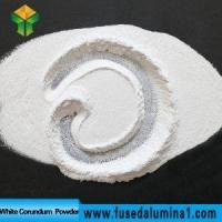 China Corundum products White Fused Alumina Powder wholesale